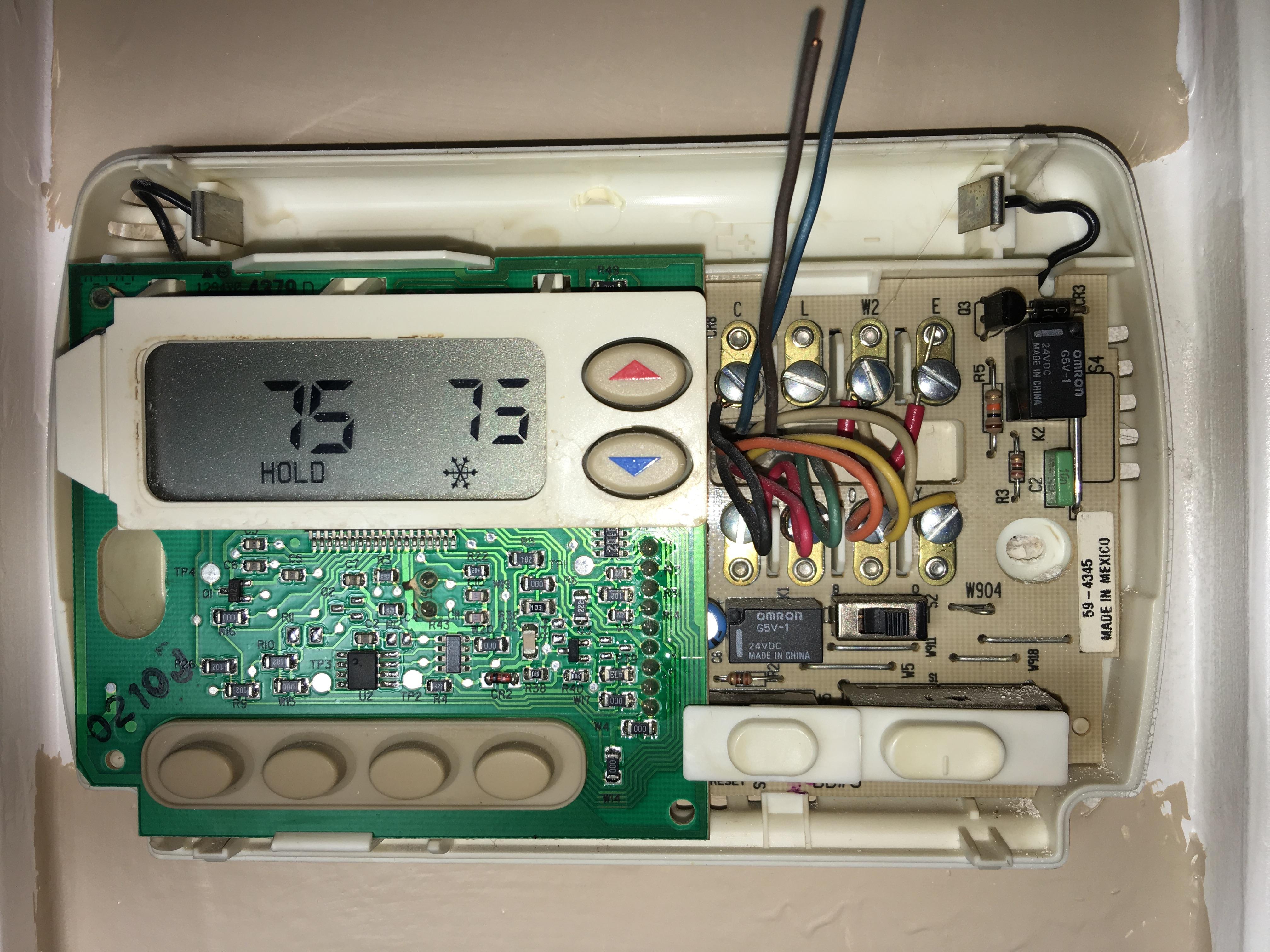 HELP Nest Thermostat E Install DUAL FUEL? : Nest
