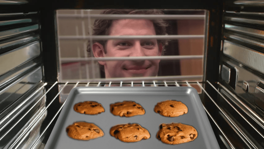What your cookies see baking in the oven: memes