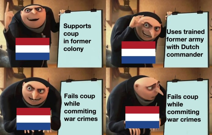 Indonesian National Revolution Memes Dutch Spice Memes Historymemes