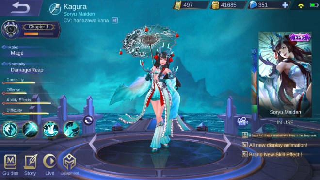 kagura's cv is the kana hanazawa. thanks mt! : mobilelegendsgame