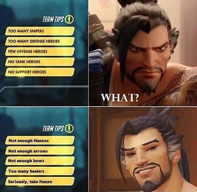 What Hanzo Mains See Vs What They Want To See