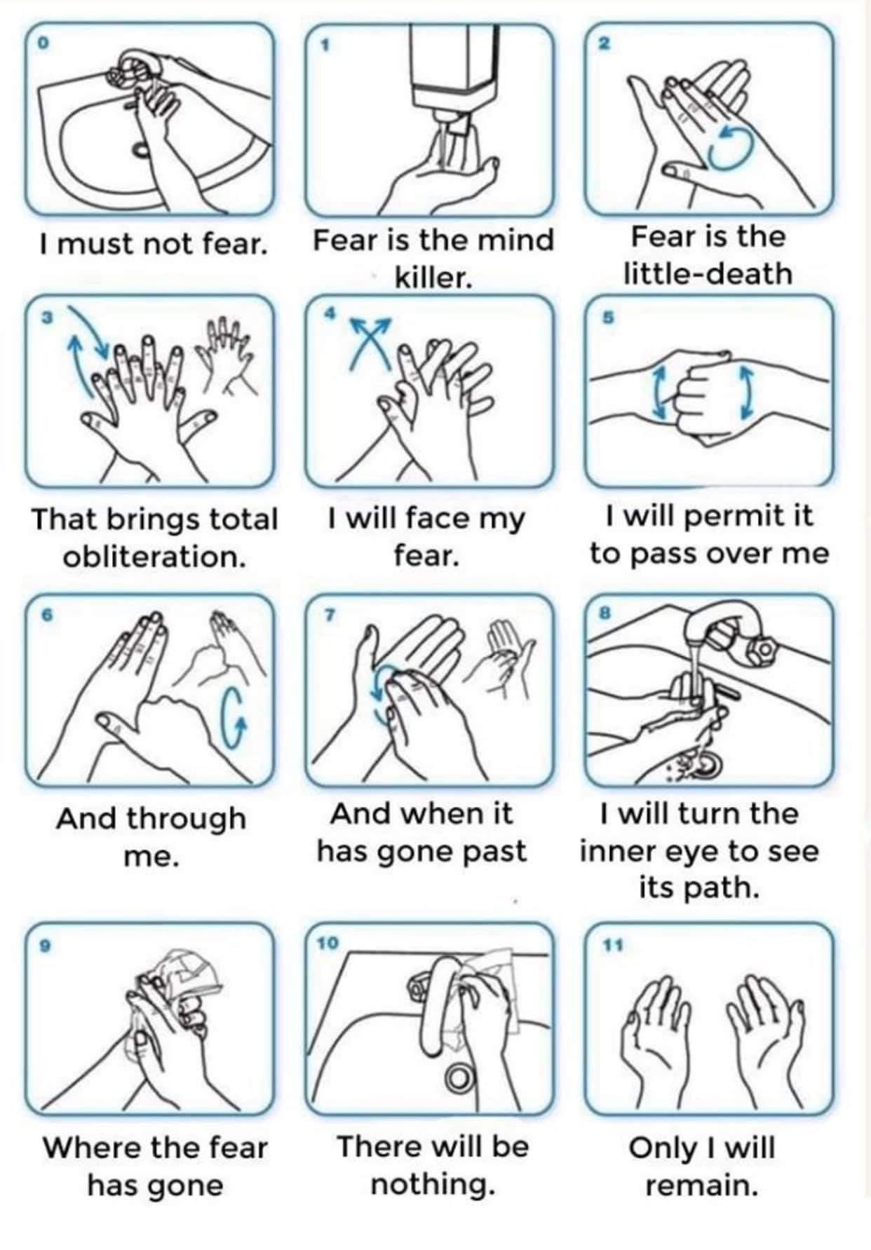 Hand Washing Instructions Memetemplatesofficial