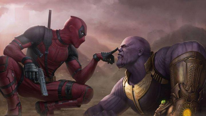 Deadpool v/s Thanos