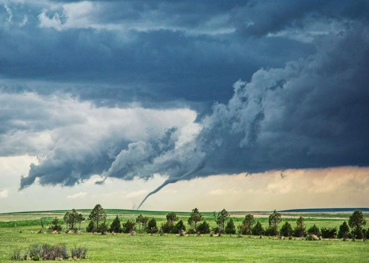 Tornado captured west of Akron, Colorado (Photo credit to Nenah Demunster) [1080 x 771]