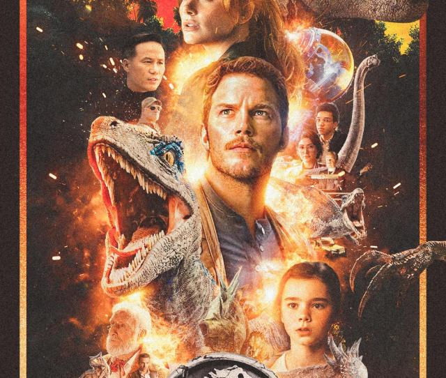 1 Drew Struzan Inspired Jurassic World Fallen Kingdom Movie Poster By Nima Nakhshab