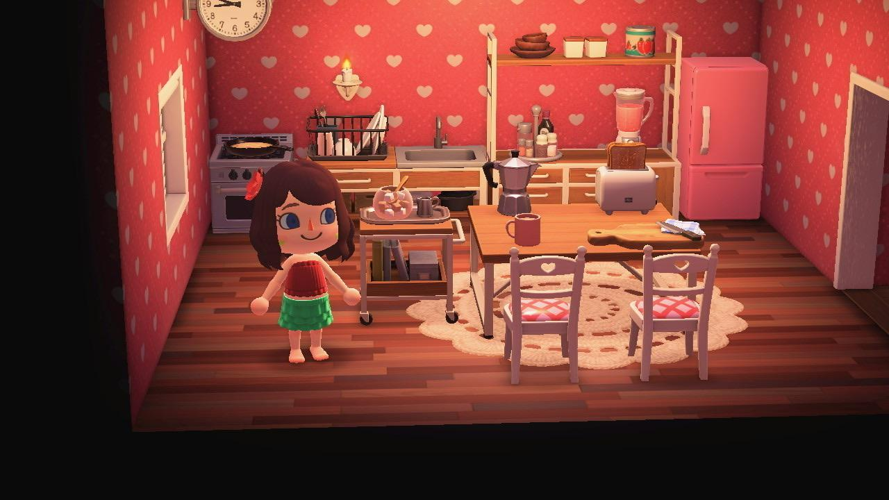 My attempt at a cute ironwood kitchen ? : AnimalCrossing on Ironwood Kitchen Animal Crossing  id=99873