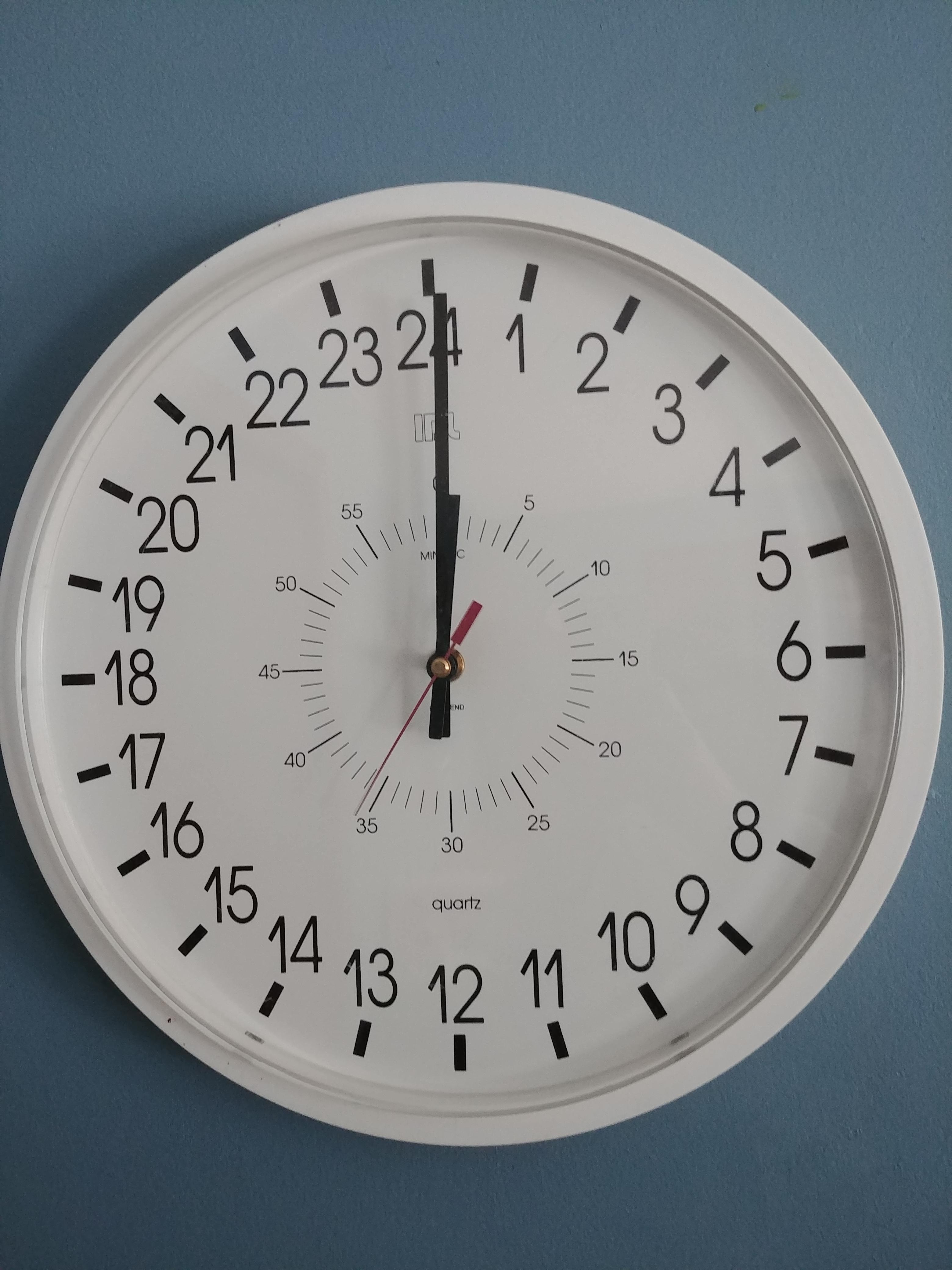 This 24 Hourog Clock Mildlyinteresting