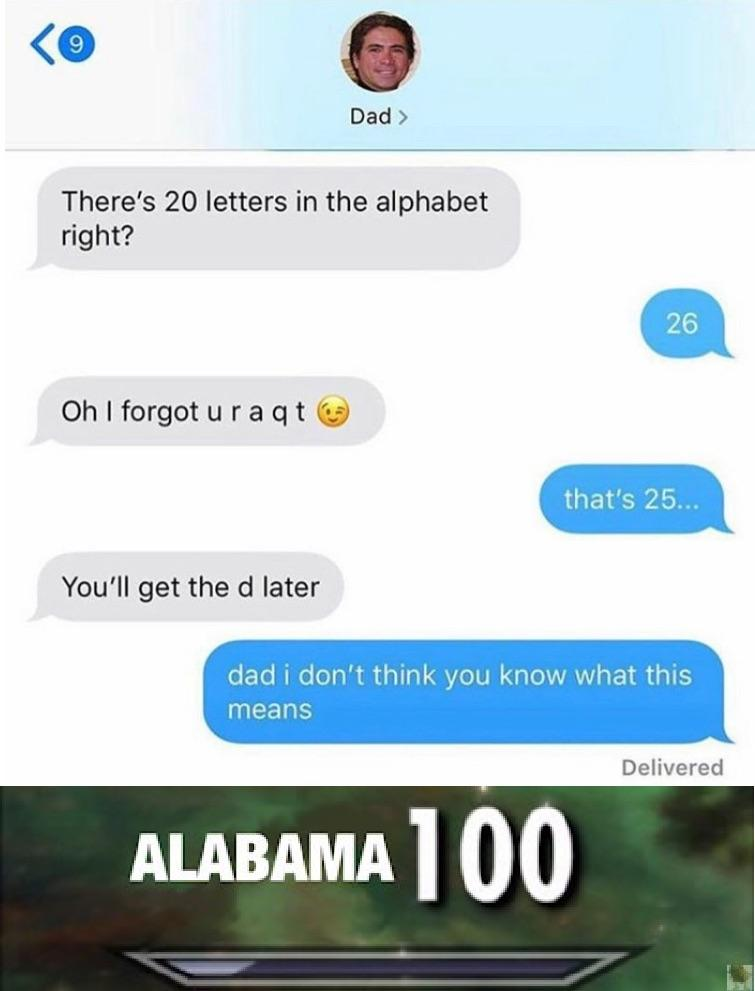 A phrase from the song, sweet home alabama, that is used to indicate incest. Sweet Home Alabama Intensifies Dankmemes