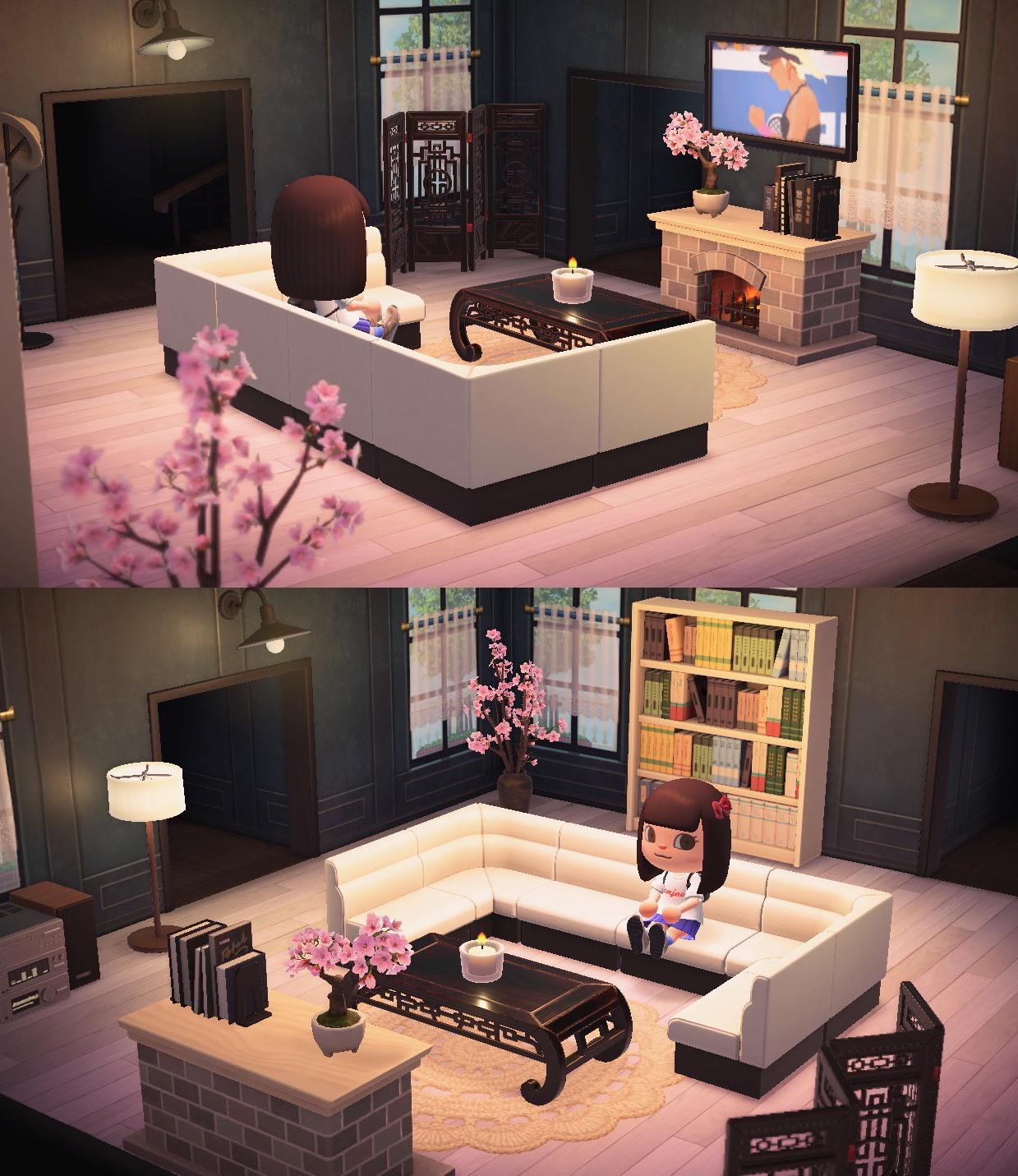 Here is my living room ? : AnimalCrossing on New Horizons Living Room  id=29614