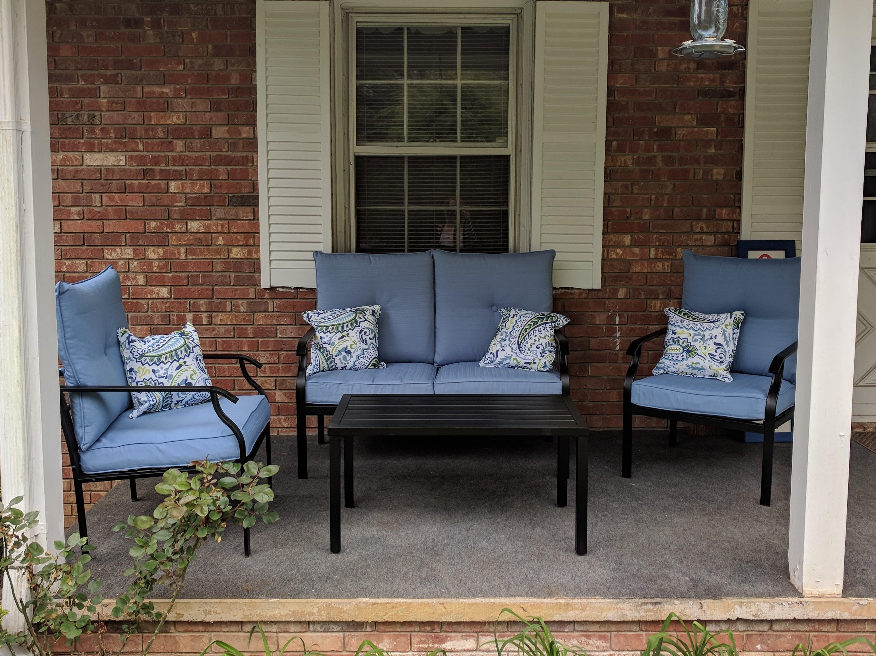 i bought this patio set last wednesday