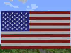Flag of The United States of America (as close as I could get to ...