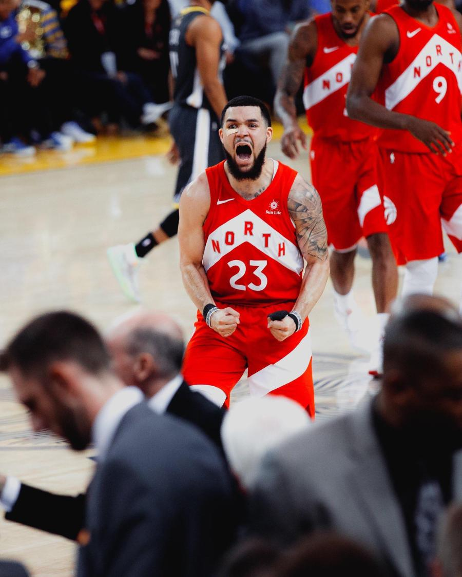 Image result for fred vanvleet scream