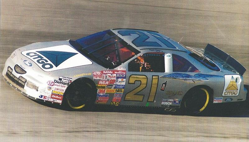 FRF: Michael Waltrip's 1996 #21 Citgo/Star Trek: First
