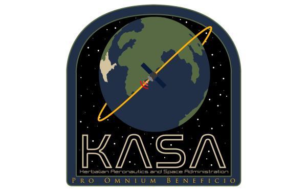 KASA Logo by DjPreside Kerbal Space Program flag