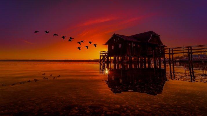 Lake house amazing view 😍😍 [1920*1080]