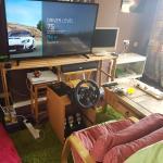 Diy Racing Wheel Stand For Logitech G920 Gaming