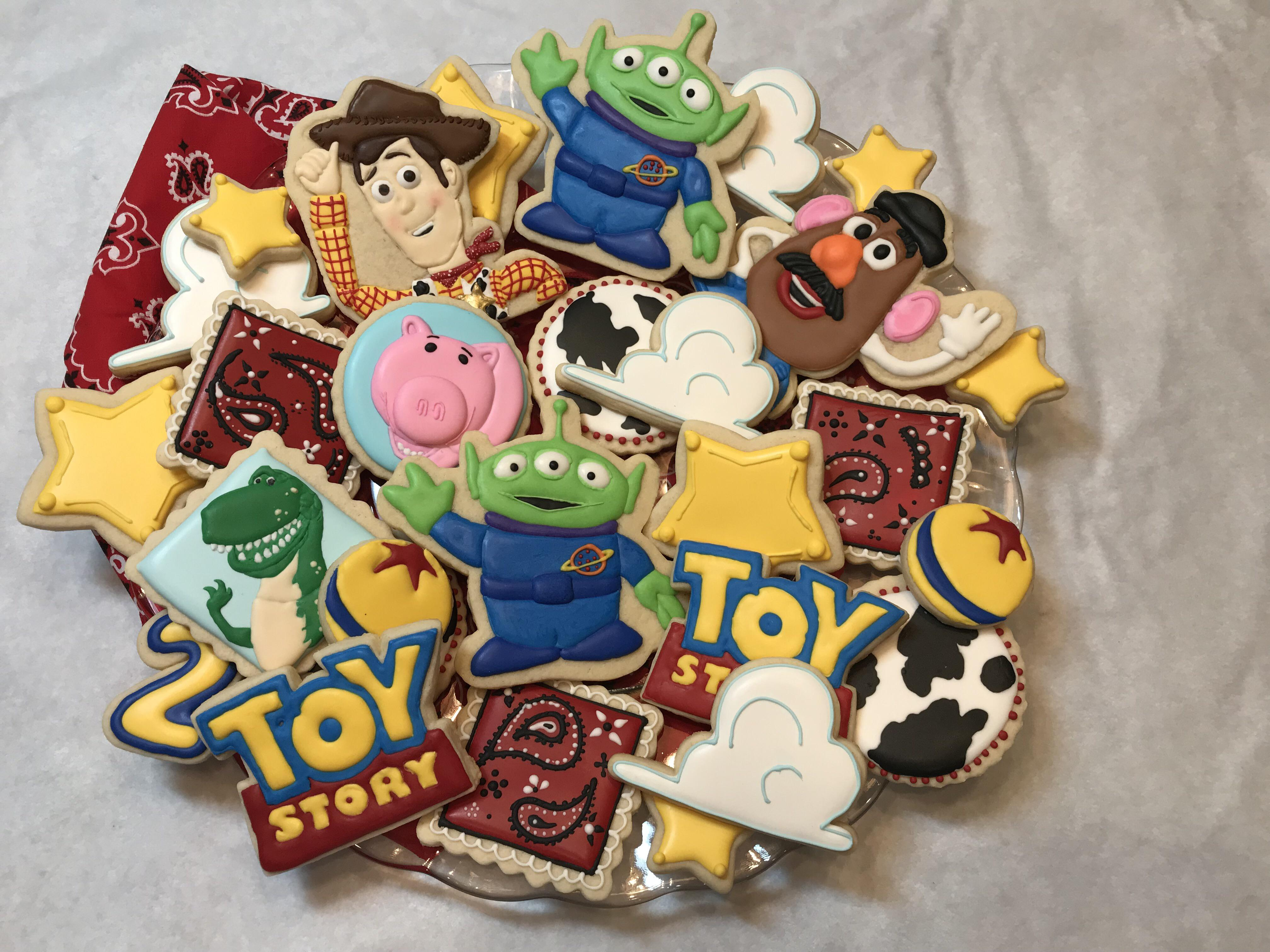 4th Go At Decorating Toy Story Cookies For My Friend S