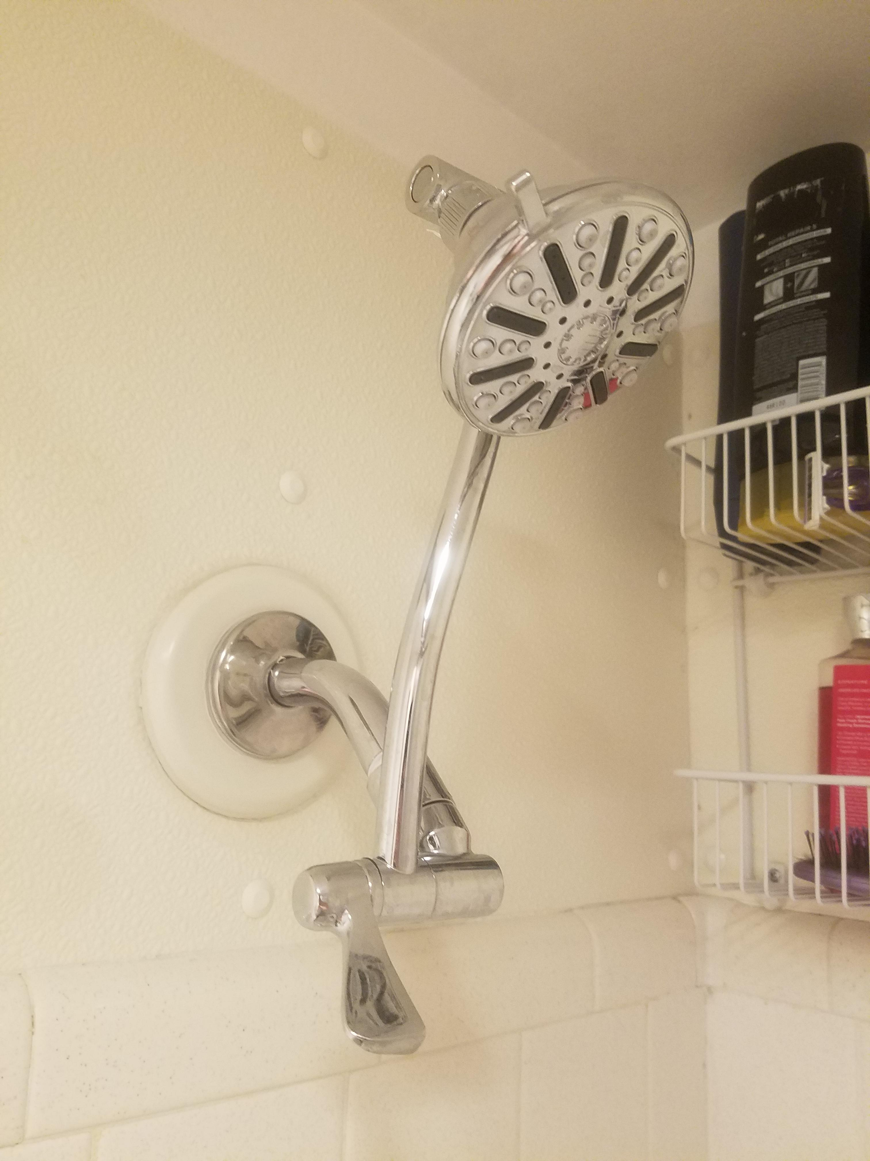 Crouch No More A 20 Shower Extender Can Add Almost A Foot