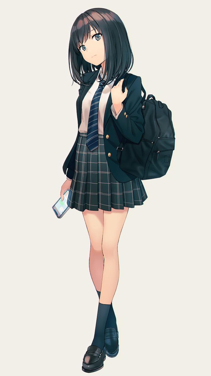 Modern Highschool Girl [Original] (2880×5120)+