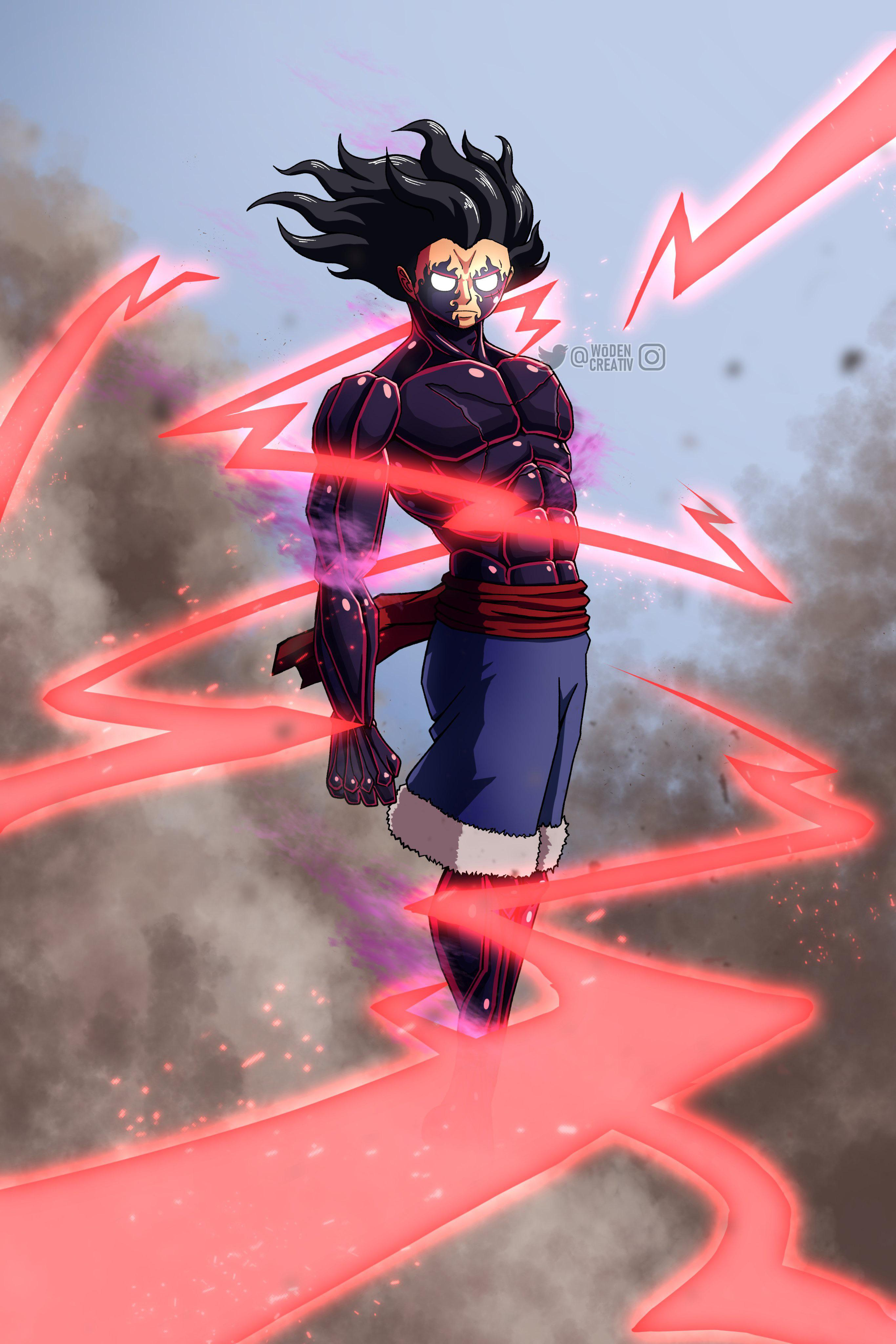 Gear 2 augments luffy's blood to increase base speed. One Piece Luffy Gear 5th