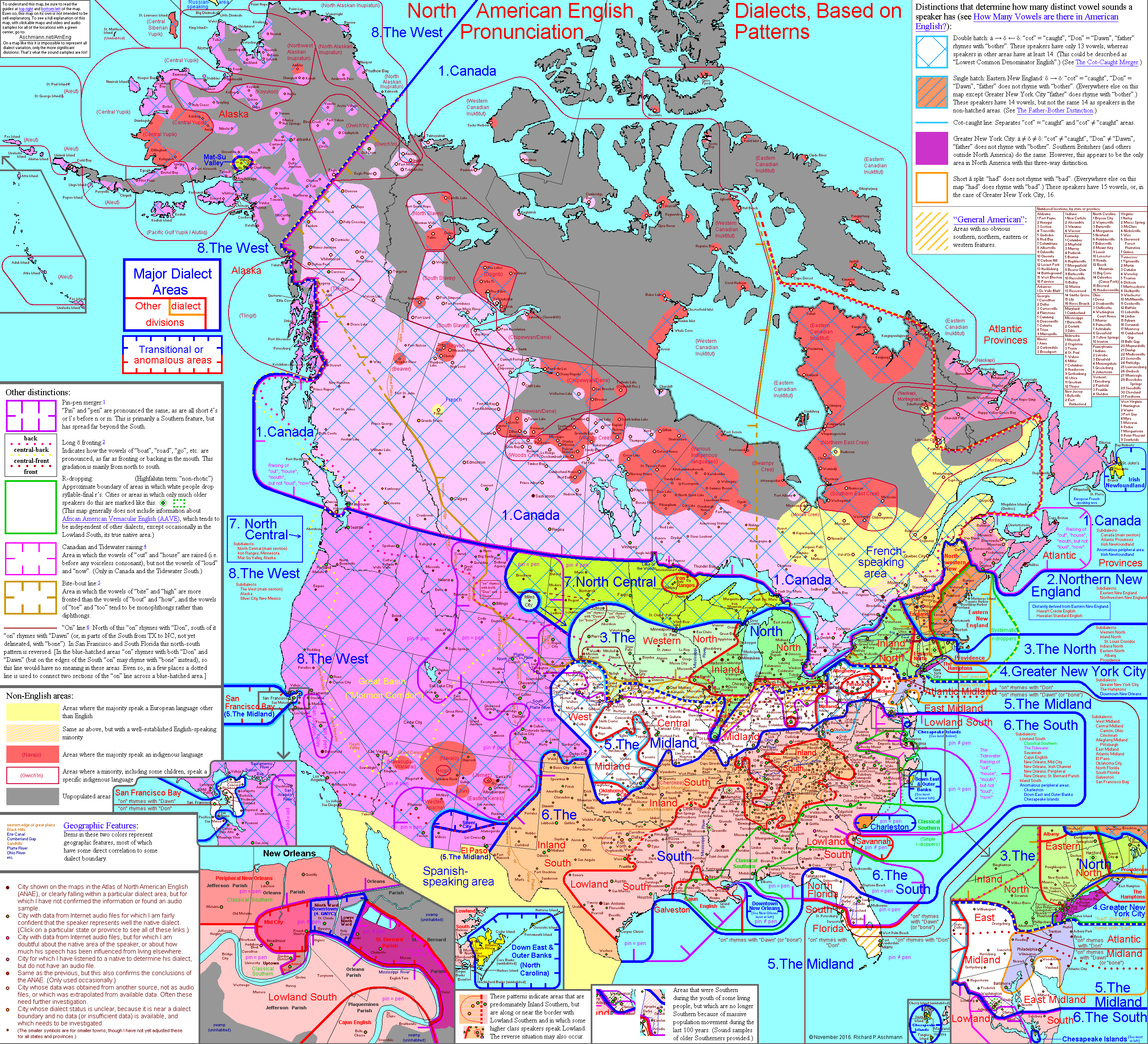 English Dialects In North America X Source