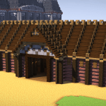 Horse Stable Day I Guess D Minecraft