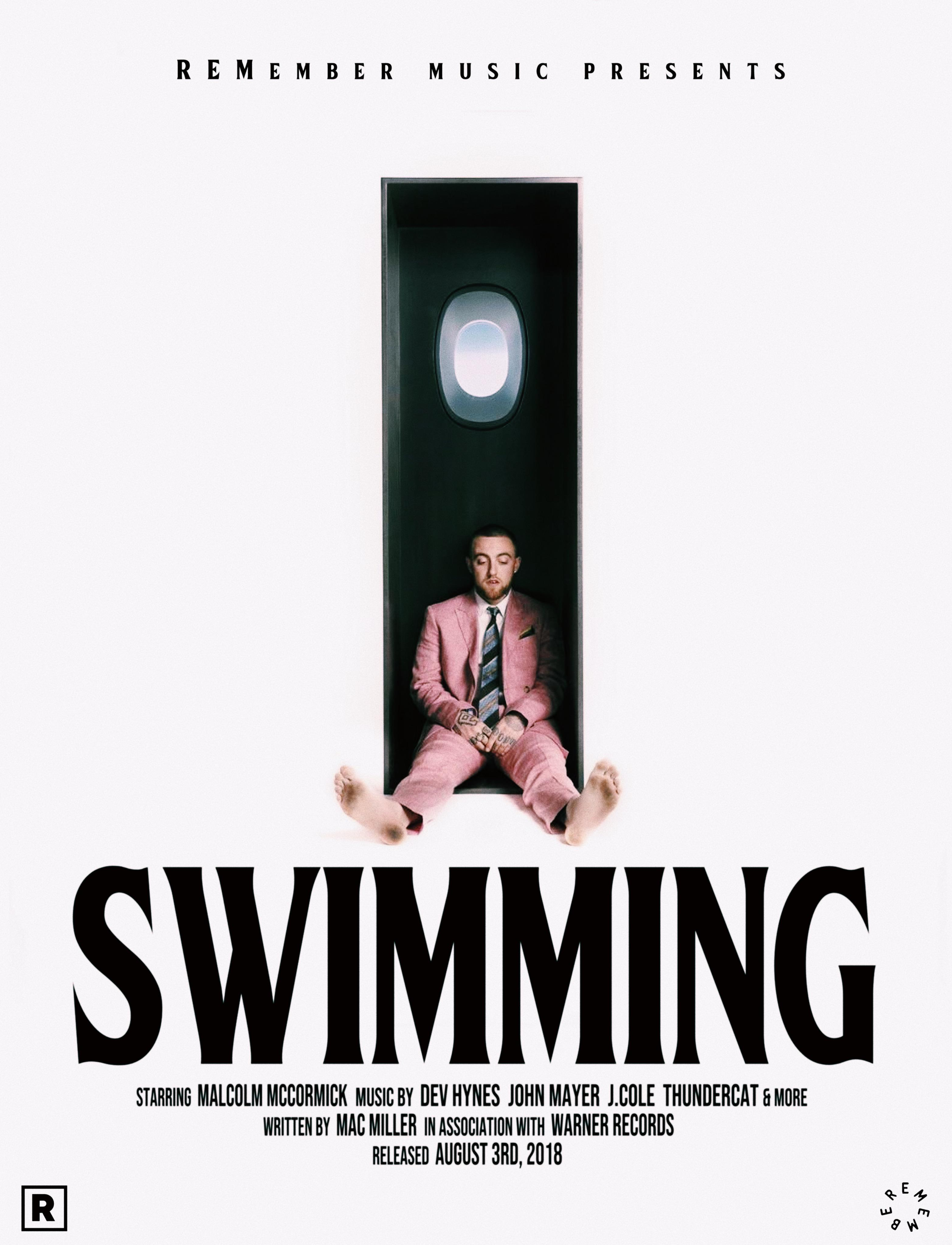swimming movie poster macmiller