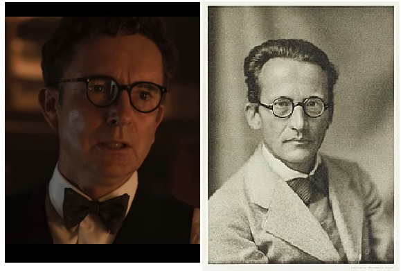 The person on the right is physicist Erwin Schrödinger a/k/a the ...