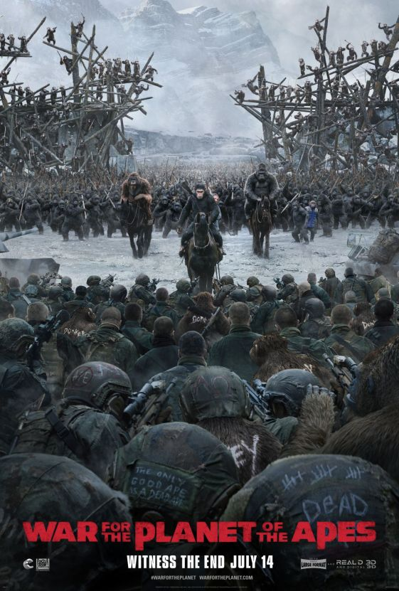 Image result for war for the planet of the apes poster