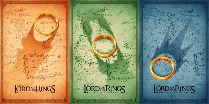 The Lord of the Rings Trilogy (2001-2003) [1800 x 900]