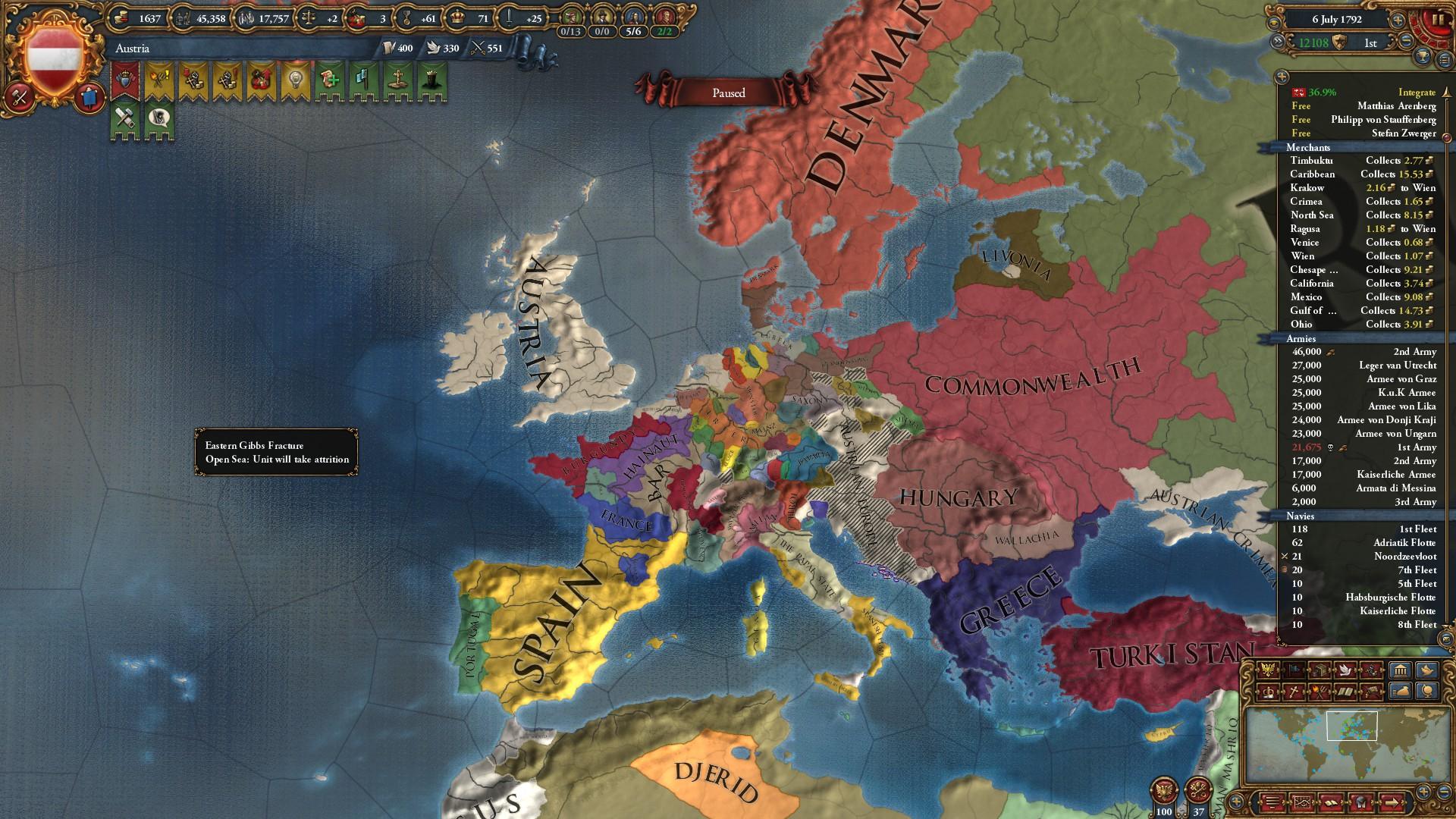 Hrexit Abandon The Sinking Ship Eu4