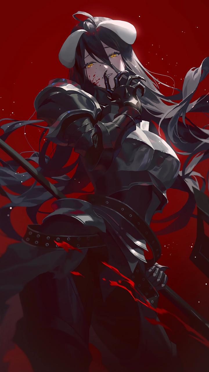 """Dark Empress of Death"" Albedo😈💋[Overlord] (2250×4000)"