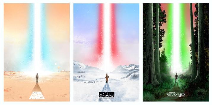 Star Wars Original Trilogy [2569×1282]
