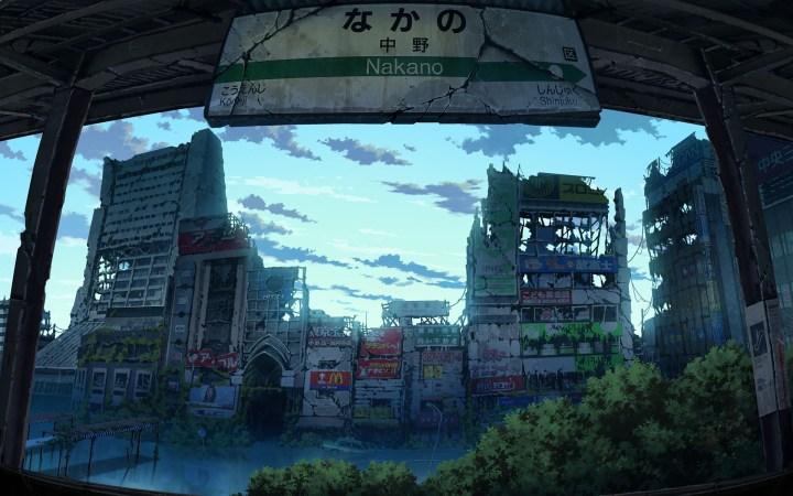 Post – apocalyptic Japan [1920×1200]
