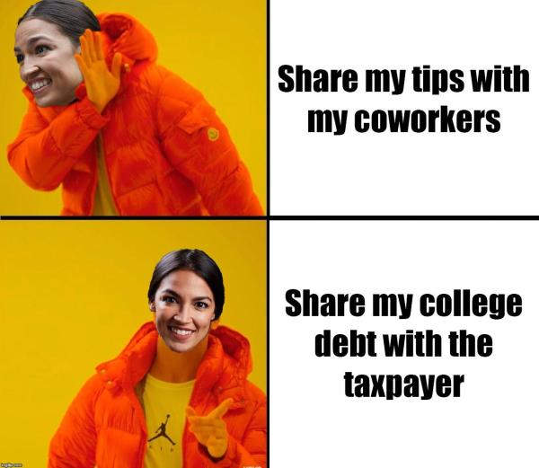 Red Alexandria Ocasio-Cortez didn't share her tips in her ...