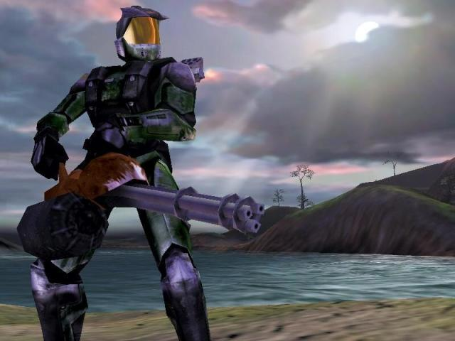 I think it would be interesting if 343 brought this from the original Halo  CE beta in Halo 5 or future titles : halo