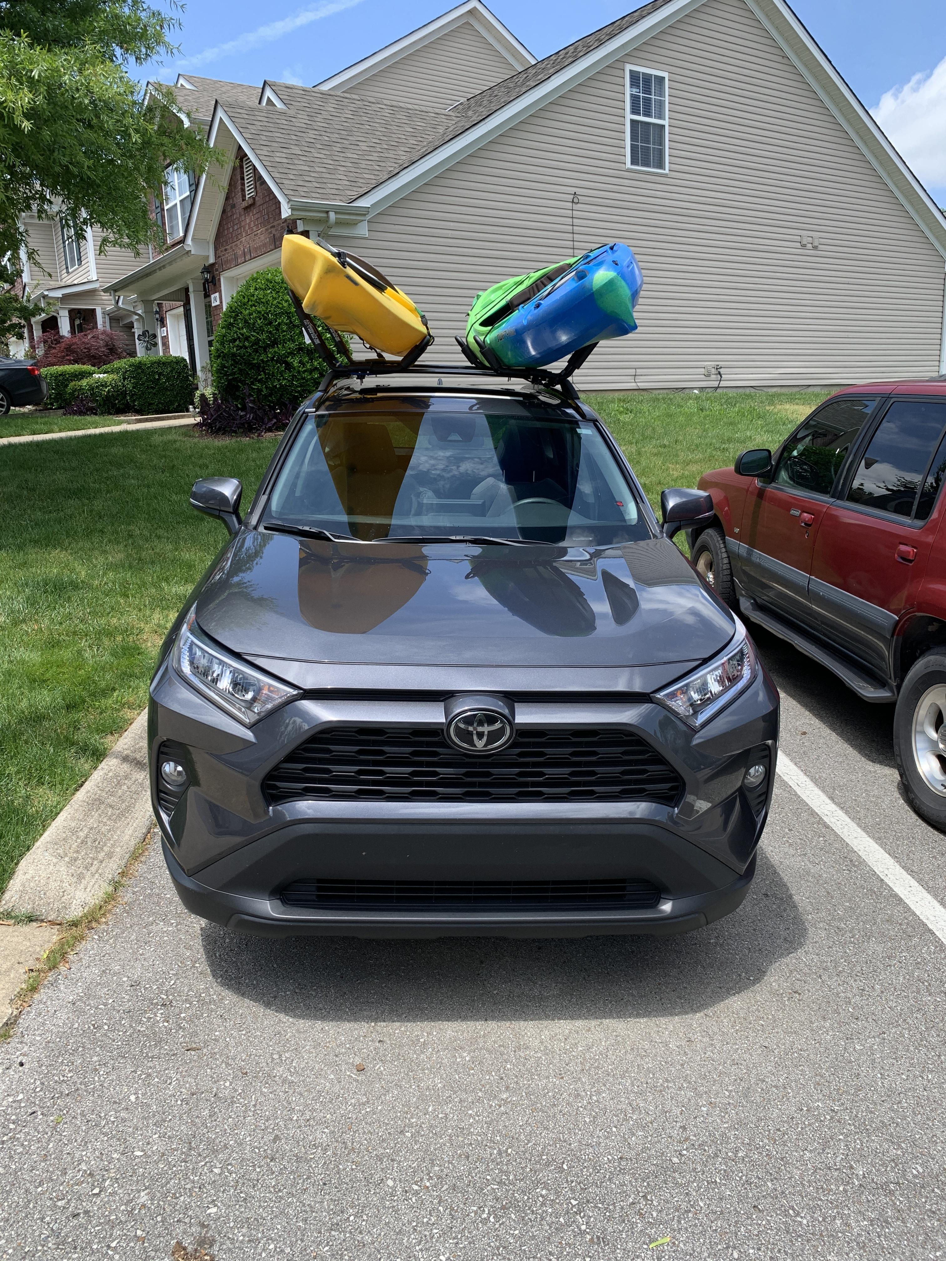 crossbars and kayaks for memorial day