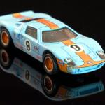 Carshow July Race Ford Gt40 Gulf Racing Mb Hotwheels