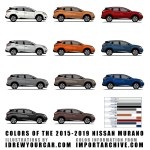 I Drew Every 2015 2019 Murano Color Xpost Nissan