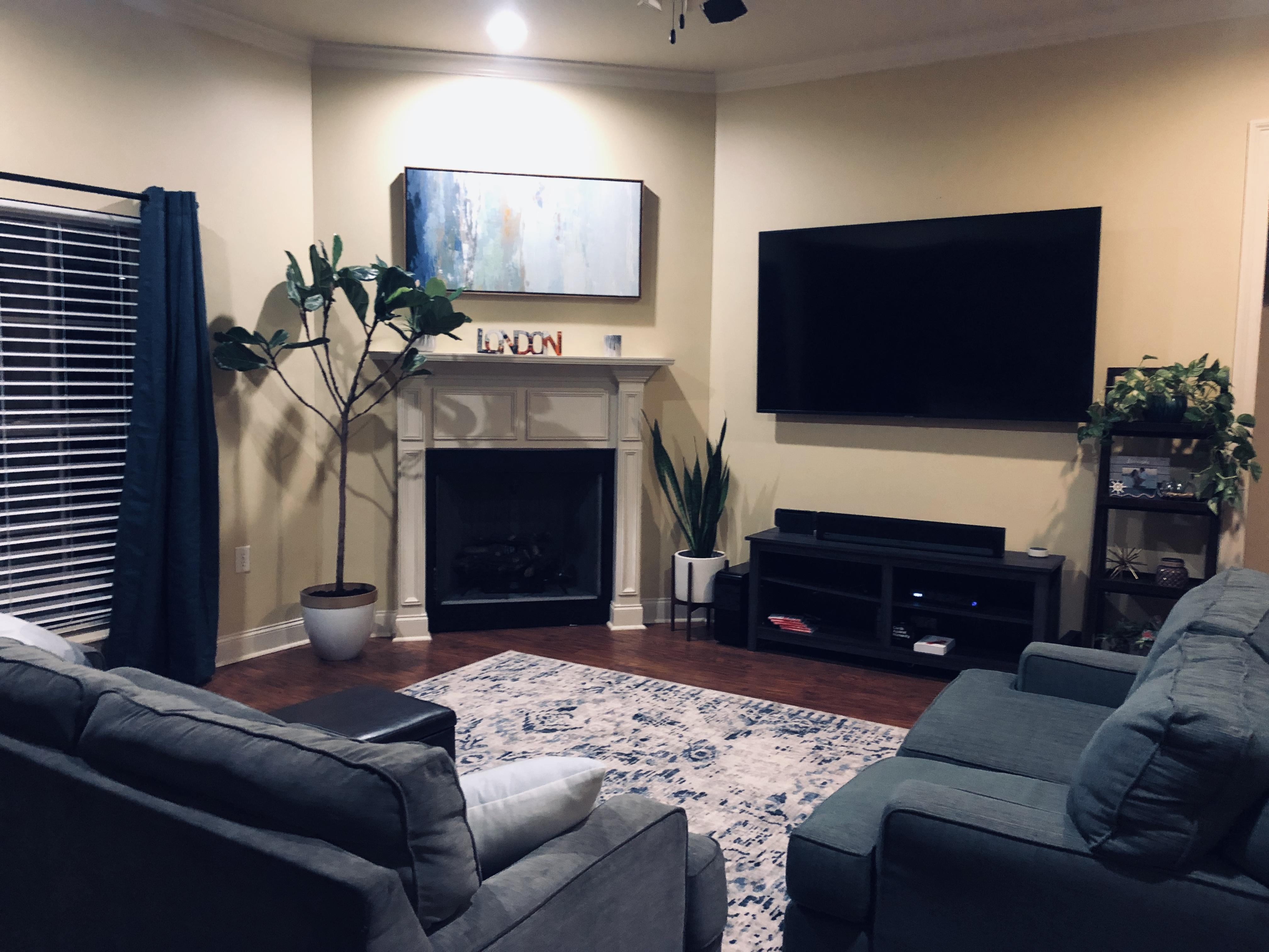 new living room set up thoughts