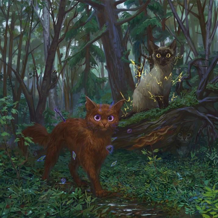 The wild ones by Ekaterina Kazartseva. [1350×1350]