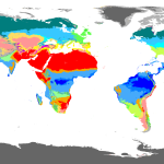 Map Of The World According To The Koppen Geiger Climate Classification 3927x2102 Mapporn