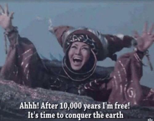 r/BarbaraWalters4Scale - When Rita Repulsa was imprisoned by Zordon (10,000 years before 1993), humans were still figuring out animal domestication, and the pyramids wouldn't be built for another 5,400 years. Barbara Walters was 64 years old when Rita escaped from the space dumpster in 1993.
