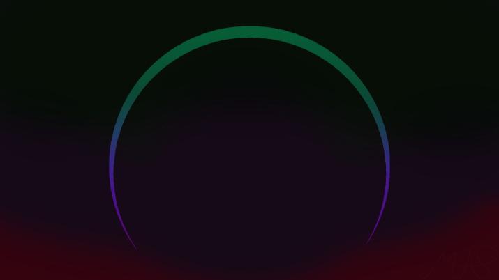 [1920 x 1080] Colored Eclipse