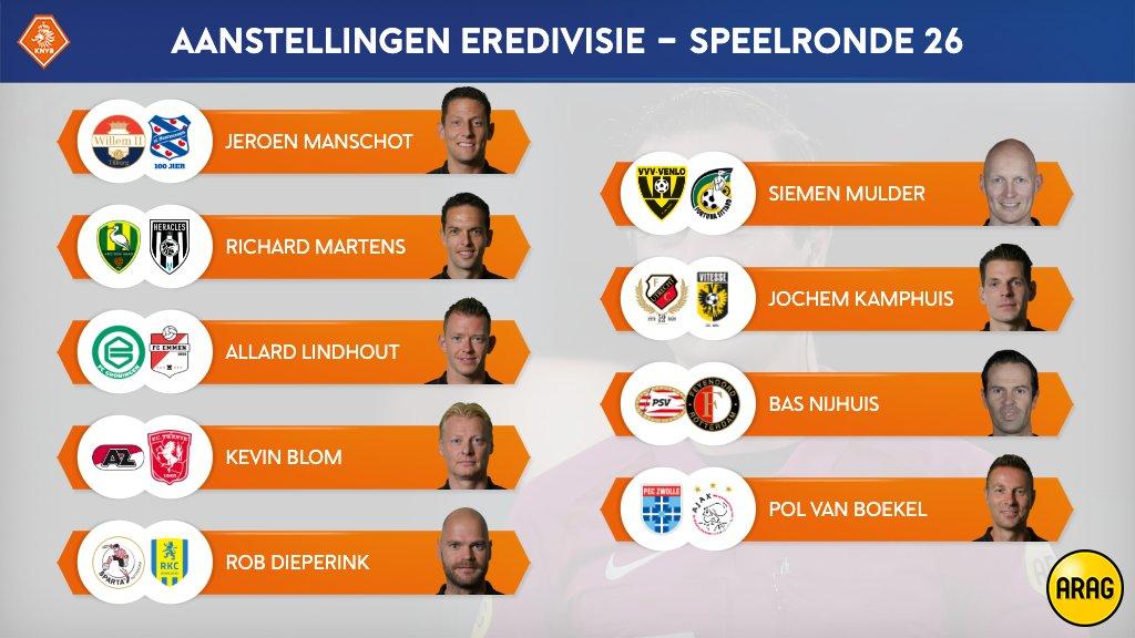 round 26 of the eredivisie bas nijhuis
