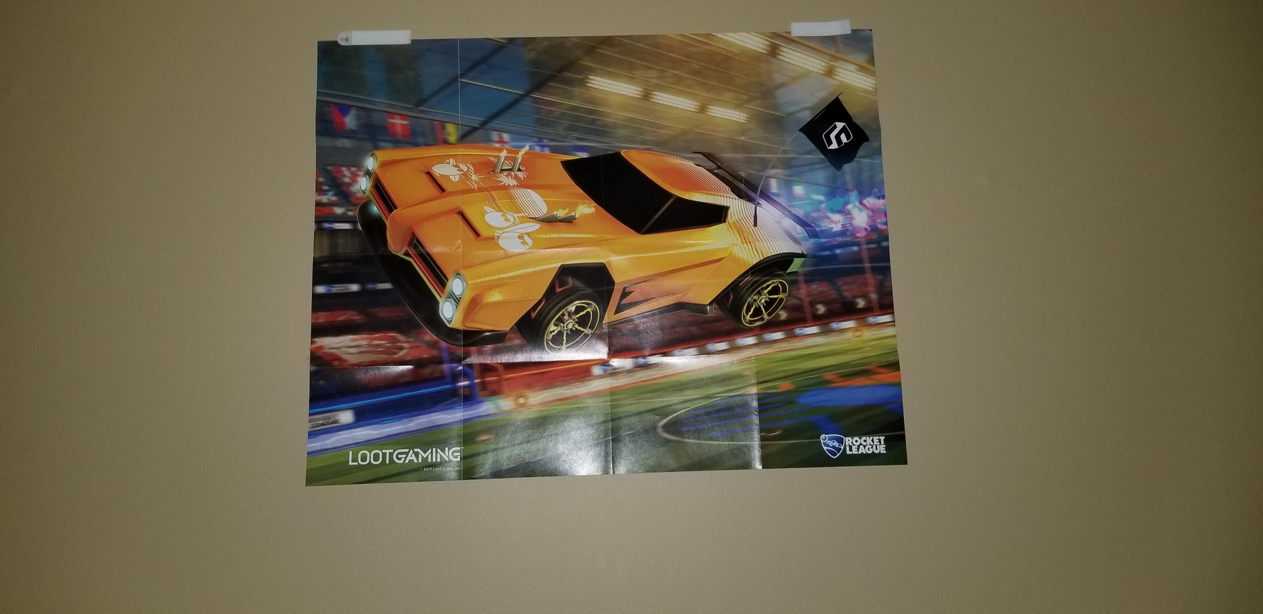 my rocket league poster rocketleague