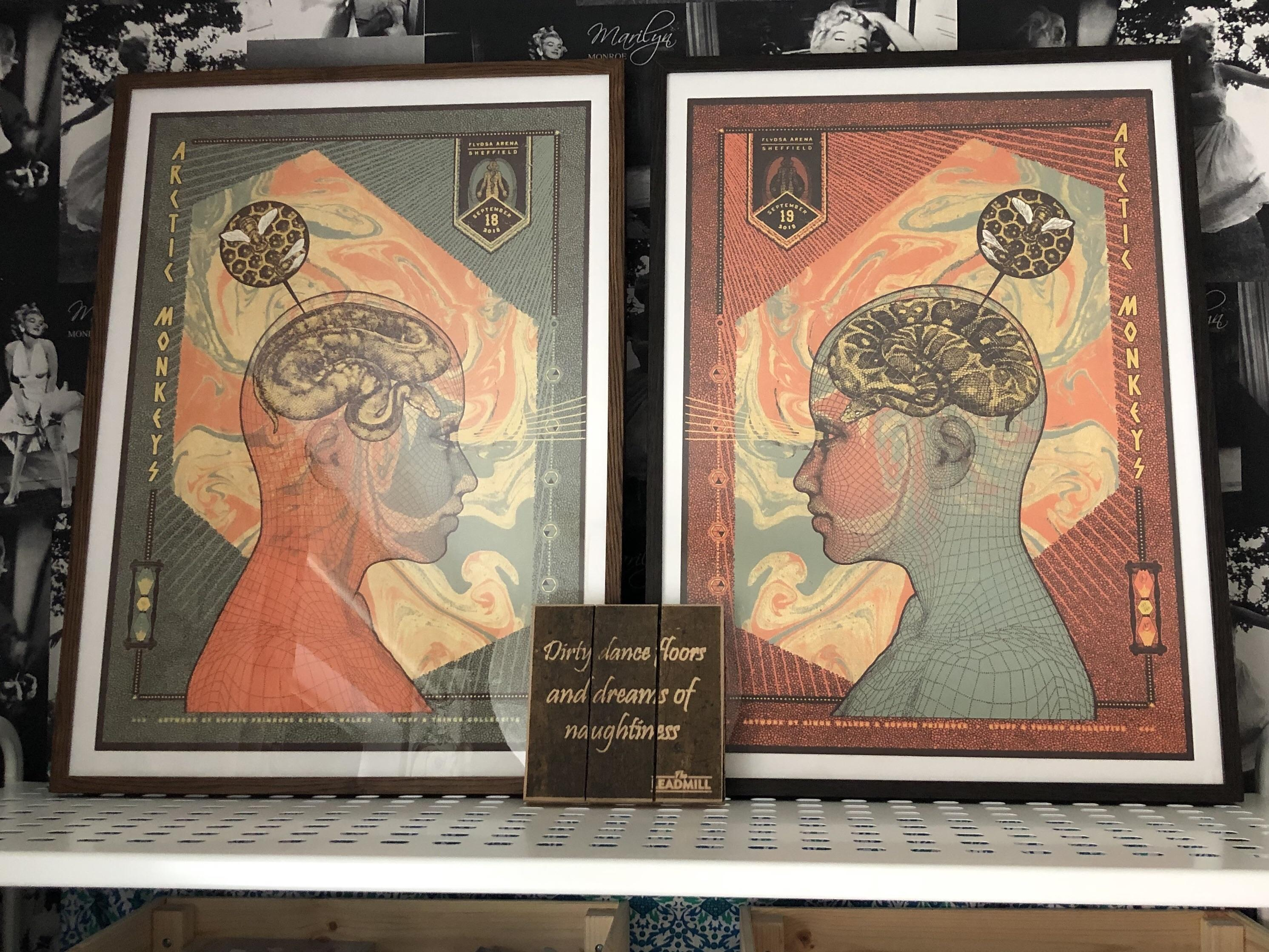 got my two sheffield posters mounted
