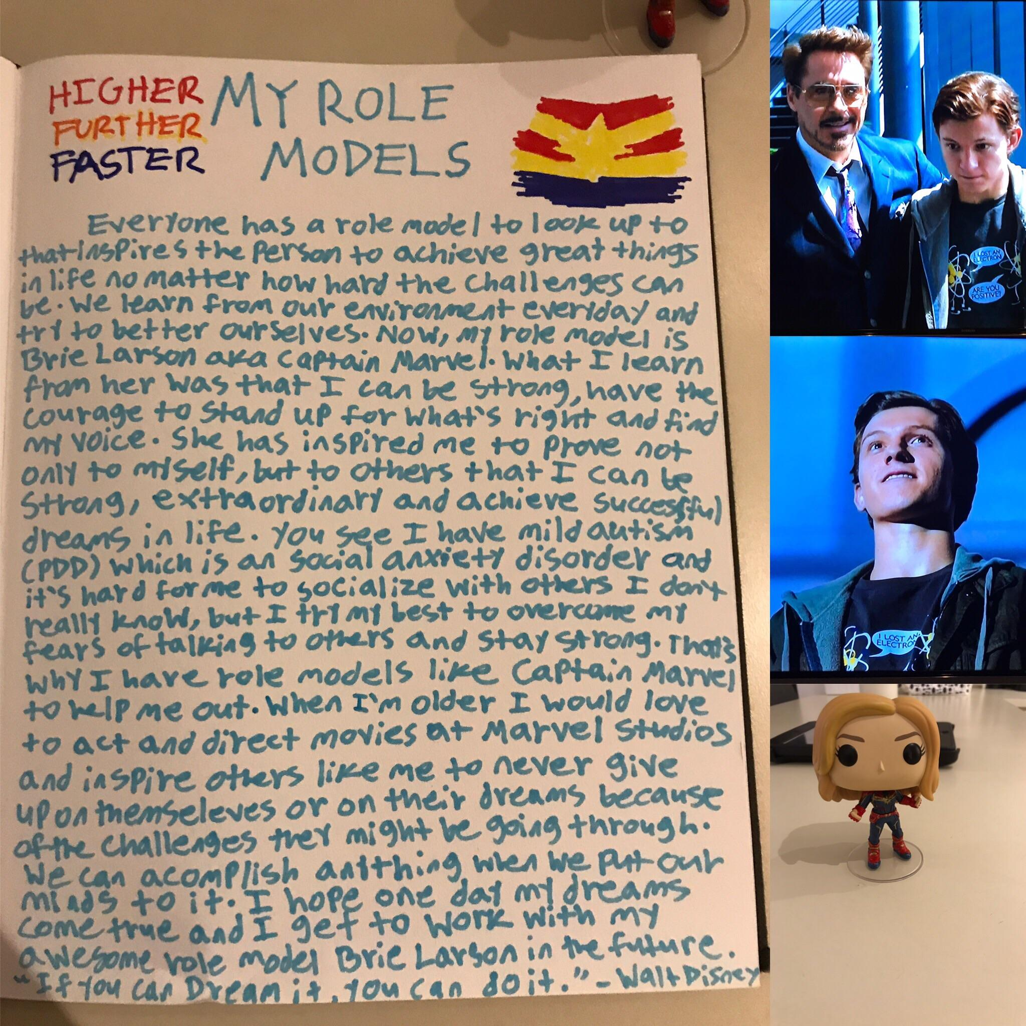 Tom Holland S Role Model Is Robertdowneyjr And He Got To