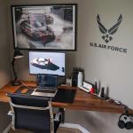 Ikea Countertops Make For Great Floating Desk Platforms Battlestations
