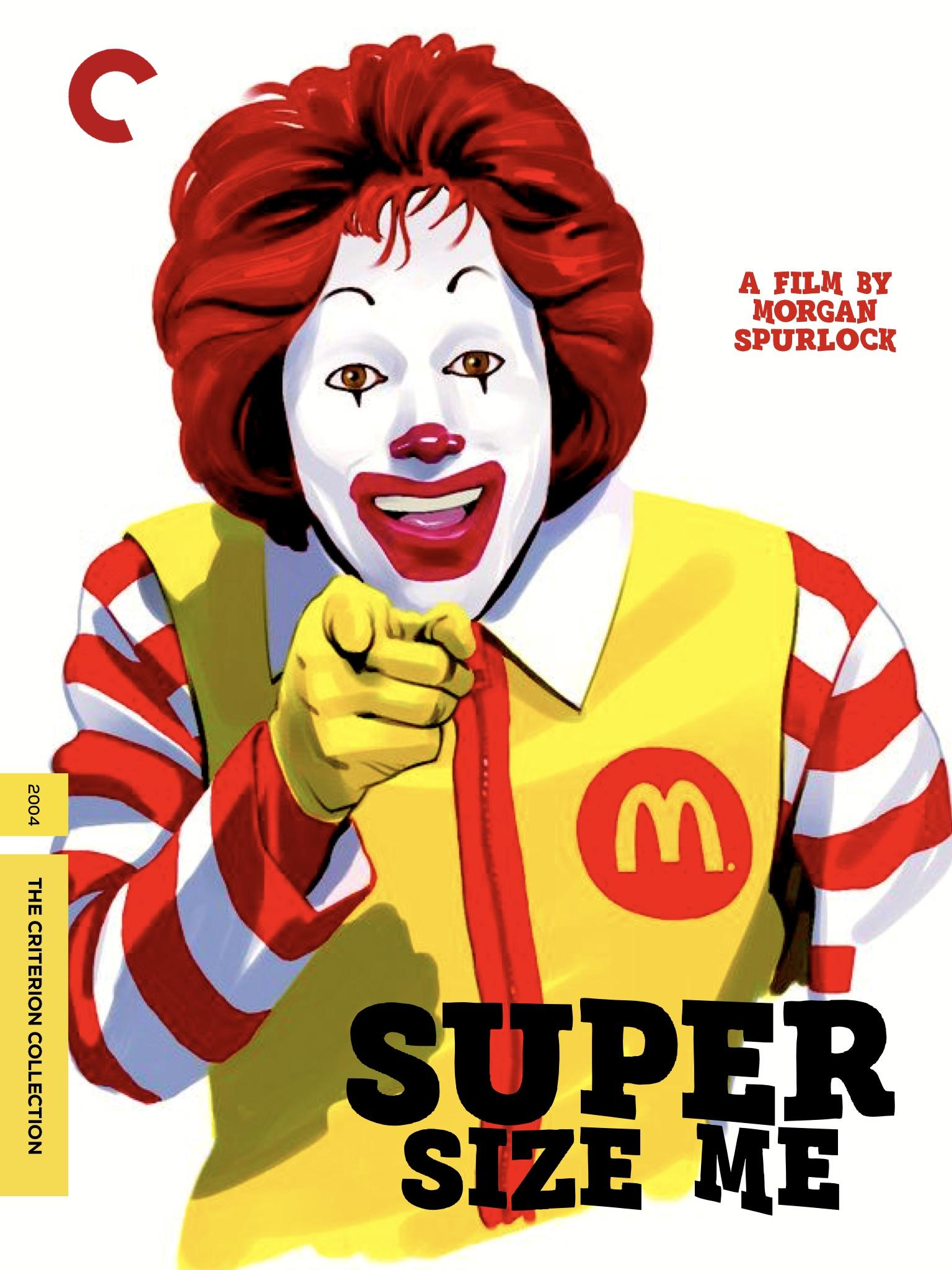 Fake Cover I Made For Super Size Me Criterion